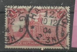 Deutsches Reich 78Ab, 1,00 M Reichspostamt Berlin Gestempelt   Mi.: 3,50 € - Gebraucht