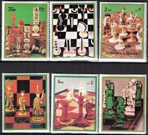 Fujeira, 1973, Mi. 1319-24, Chess, MNH - Fujeira