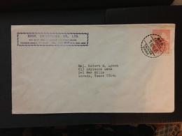 CHINA, Tai WAN, Letter Cover, Taiwan To USA, Rare, Beautiful, CINA, CHINE,  LIST 968 - Covers & Documents