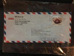 CHINA, Tai WAN, Letter Cover, Taiwan To USA, Rare, Beautiful, CINA, CHINE,  LIST 971 - Covers & Documents