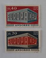 N° 194 Et 195        Europa 1969 - Gebraucht