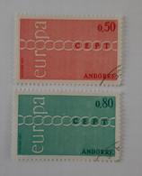 N° 212 Et 213        Europa 1971 - Gebraucht