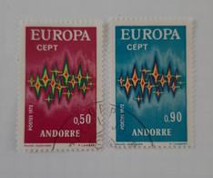 N° 217 Et 218        Europa 1972 - Gebraucht