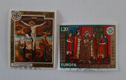 N° 243 Et 244       Europa 1975 - Gebraucht