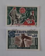 N° 253 Et 254       Europa 1976 - Gebraucht