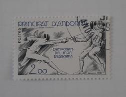 N° 296       Championnats Du Monde D' Escrime - Gebraucht