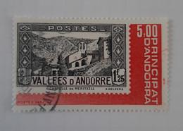 N° 304       Exposition Officielle Des Timbres Poste Andorrans 1982 - Gebraucht