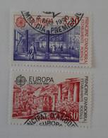 N° 388 Et 389       Europa 1990  -  Bâtiments Postaux - Gebraucht