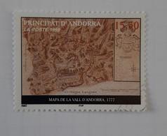 N° 509       Carte Du Principat De 1777 - Gebraucht