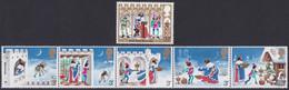 GRANDE-BRETAGNE, 1973, Noel, Chants Populaires (Yvert 702 Au 707 ) - Unused Stamps