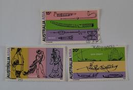 N° 430 à 432      Art Australien Et Asiatique - Used Stamps