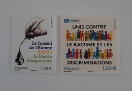 Conseil De L' Europe  -  UNESCO  2021  -  Neufs - Ungebraucht