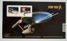 N° 3251a Et 3252a Dans Un Feuillet       Star Trek  -  Neuf - Blocks & Sheetlets