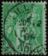 -Sage N°106 Type II  Ob LILLE 1899. - 1876-1898 Sage (Type II)