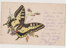 Carte Fantaisie Raphaël Tuck &Fils .Un Mot à La Poste/ Papillon - Insects