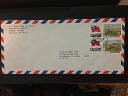 CHINA, Tai WAN, Letter Cover, Taiwan To USA, Rare, Beautiful, CINA, CHINE,  LIST 979 - Covers & Documents