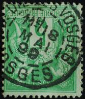 -Sage N°106 Type II  Ob ST DIE DES VOSGES.1899. - 1876-1898 Sage (Type II)