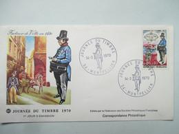 JOURNEE  DU  TIMBRE   14  MARS 1970    MONTPELLIER               TTB - Tag Der Briefmarke