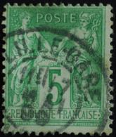 -Sage N°106 Type II  Ob LILLE GARE.1899. - 1876-1898 Sage (Type II)