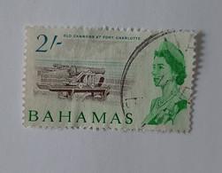 N° 203       Vieux Cannons Du Fort Charlotte  -  2 S. -  Oblitéré - 1963-1973 Ministerial Government