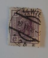 N° 97       12 H  Violet  -  Chiffres De Couleur  -  Sans Lignes Brillantes - Used Stamps