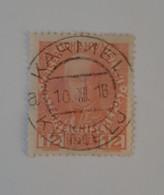 N° 107a       12 H  Vermillon  -  François 1er  -  Papier Non Glacé - Used Stamps
