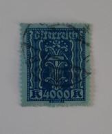N° 322       4000 K  Outremer Sur Azuré  -  Symbole - Used Stamps