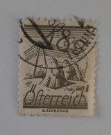 N° 341       18 G  Olive - Used Stamps