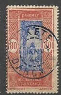 DAHOMEY N° 89 CACHET SAKETE - Used Stamps