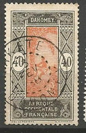 DAHOMEY N° 53 CACHET SAKETE - Used Stamps
