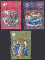 GRANDE-BRETAGNE, 1970, Noel (Yvert 602 Au 604 ) - Unused Stamps