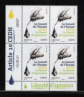 FRANCE  ( FCD22 - 199 )  2021  CONSEIL DE L'EUROPE    N** - 2010-....