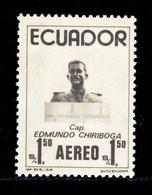 EQUATEUR AERIENS N°  581 ** MNH Neuf Sans Charnière, TB (D9656) Capitaine Edmundo Chiriboga - 1974 - Ecuador