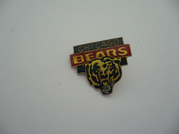PIN'S PINS PIN PIN's ピンバッジ  CHICAGO BEARS - Cities