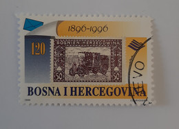 N° 194      100 Ans De La Poste Automobile  -  Oblitéré - Bosnia And Herzegovina