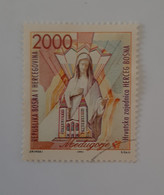 Herceg-Bosna   N°1       Sainte-Vierge Et L' église De Medjugorje  -  Oblitéré - Bosnia And Herzegovina