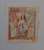 Herceg-Bosne  N°1       Sainte-Vierge Et L' église De Medjugorje  -  Oblitéré - Bosnia And Herzegovina