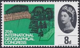 GRANDE-BRETAGNE, 1964, Paysage, Elisabeth II (Yvert 389 ) - Unused Stamps