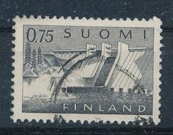 Finnland 0,75 M. Gest. Talsperre Staudamm - Gebraucht