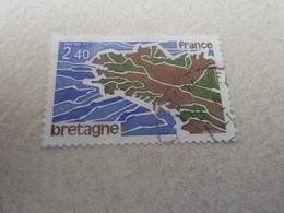 Région - Bretagne - 2f.40 - Olive, Brun Et Outremer - Oblitéré - Année 1977 - - Gebraucht