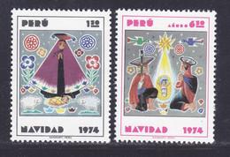 PEROU N°  607, A392 ** MNH Neufs Sans Charnière, TB (D9658) Noël -1974 - Pérou