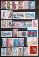 Lot France  De 1974  Neufs (43 Timbres) 2 Vues - Ungebraucht