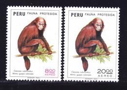 PEROU AERIENS N°  390 & 391 ** MNH Neufs Sans Charnière, TB (D9659) Protection De La Nature -1974 - Pérou
