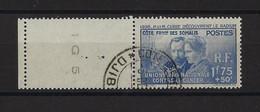 COTE DES SOMALIS  YT   N° 147  Obl  1938 - Used Stamps
