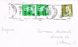 42156. Carta Impresos ALCORA (Castellon) 1983. Rodillo Correos - 1981-90 Storia Postale