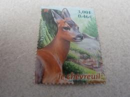 Chevreuil - Animaux Des Bois - Faune - 3f. (0.46€) - Multicolore - Neuf Sans Charnière - Année 2001 - - Gebraucht