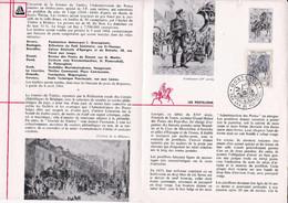 Feuillet Poste FDC 1284 Facteur Postillon Oostende - Briefe U. Dokumente