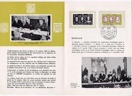 Feuillet Poste FDC 1306 Benelux - Briefe U. Dokumente
