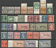 ALGERIE Série Complète N° 1 à 33 NEUF**  SANS  CHARNIERE  / MNH - Unused Stamps