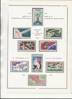 SENEGAL - POSTE AERIENNE N° 48 A 52 + N° 54 A 57 NEUF CHARNIERE -ANNEE 1965-66 - COTE : 18,90 € - Airmail
